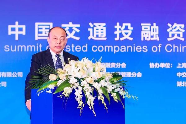 中国公路学会副理事长兼秘书长刘文杰主持会议